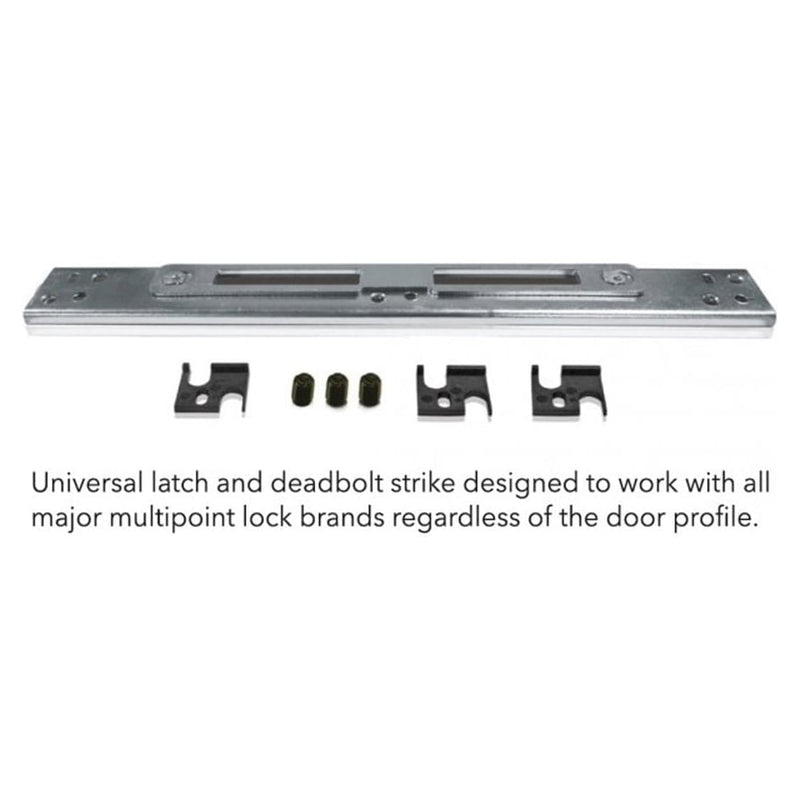 VERSA Universal Latch & Deadbolt Centre Strike Lock Keep (Single)