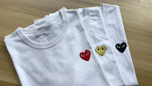 Load image into Gallery viewer, CDG Embroidered Heart Tee