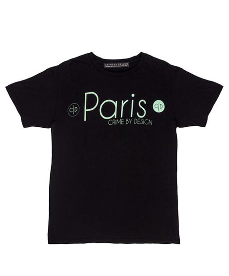 Men's Teal on Black - Paris