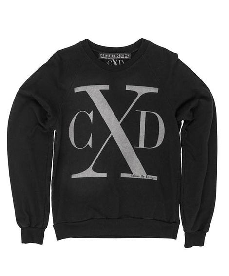 Men's Grey on Black - CXD Sweatshirt