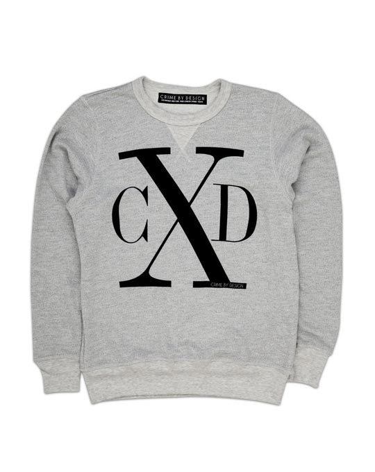 Men's Black on Grey - CXD Sweatshirt
