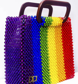 LARGE BEAD BAG