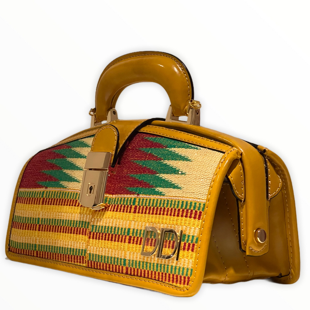 Mini Kente Briefcase