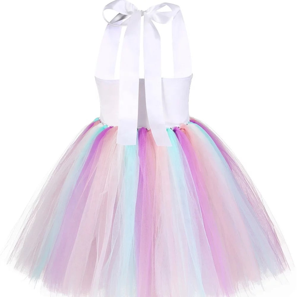 Sequin Unicorn Tutu Dress set