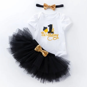 1st Birthday Tutu Set
