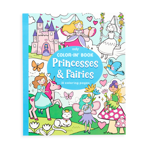 Color-in' Book: Princess & Fairies