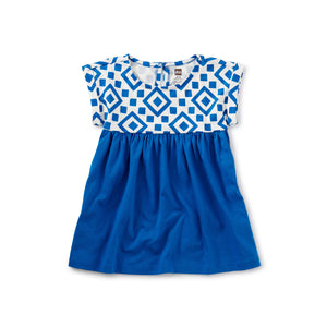 Greek Tile Empire Baby Dress