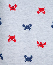Load image into Gallery viewer, Crab 2PK Romper Set
