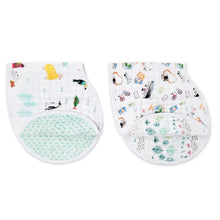 Load image into Gallery viewer, Aden & Anais 2-Pack Burpy Bibs