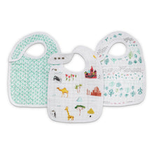 Load image into Gallery viewer, Aden & Anais 3-Pack Classic Snap Bibs