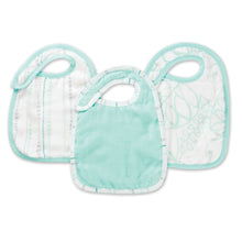 Load image into Gallery viewer, Aden & Anais 3-Pack Silky Soft Snap Bibs
