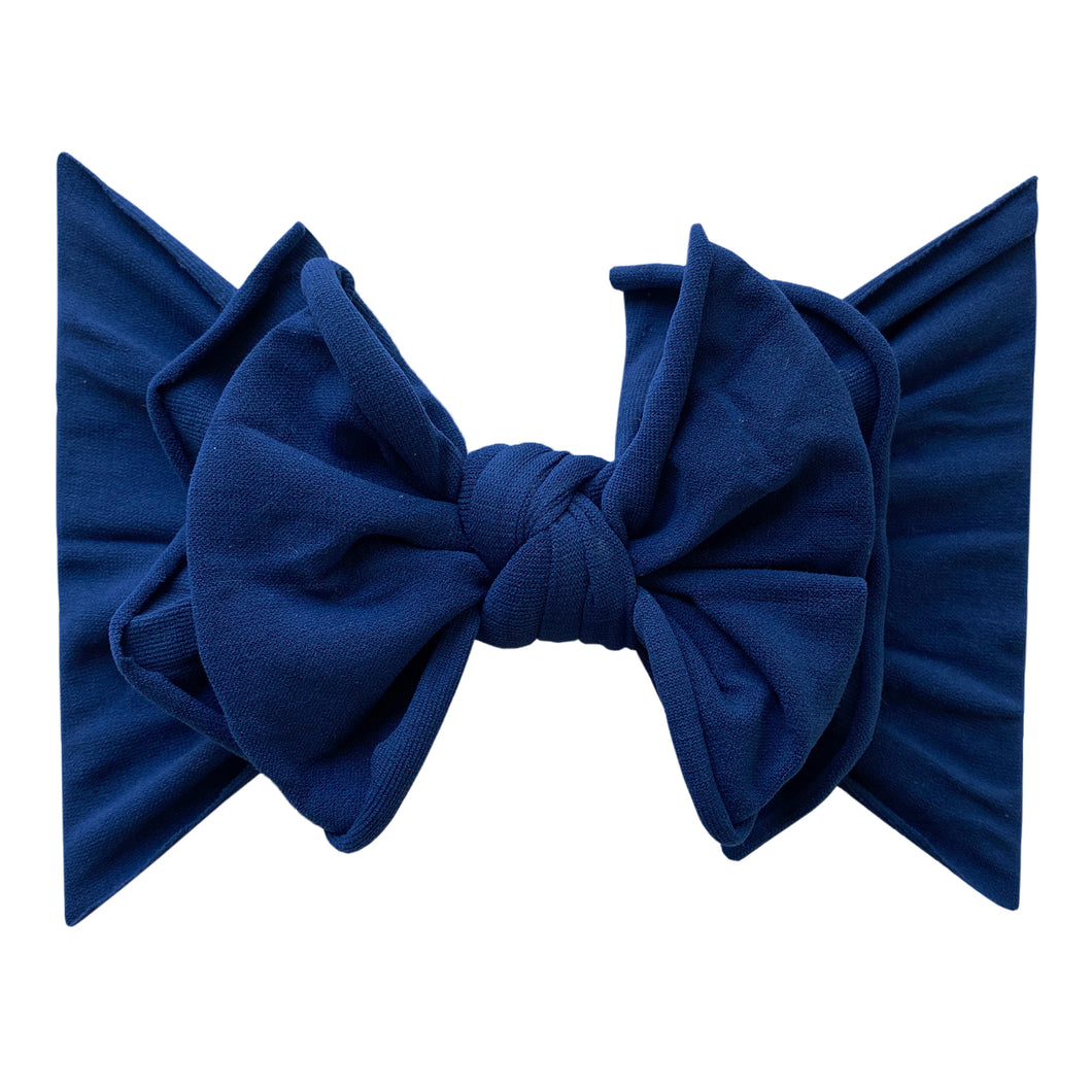 Baby Bling FAB-BOW-LOUS: Navy