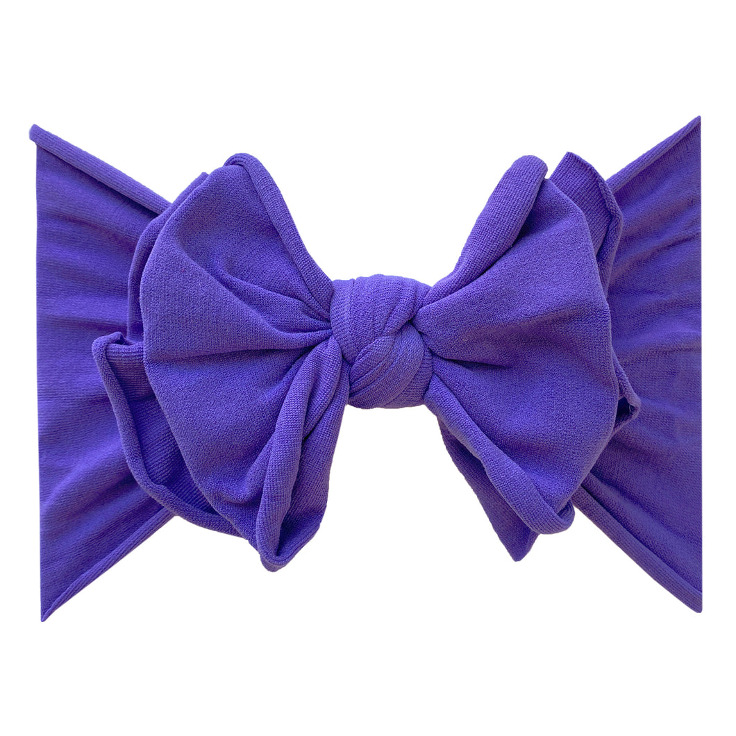 Baby Bling FAB-BOW-LOUS: Purple