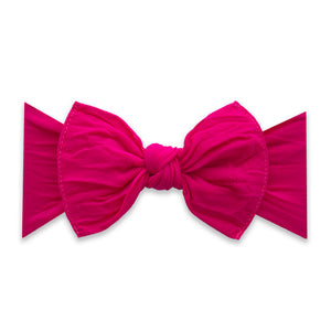 Baby Bling Classic Knot: Fuchsia