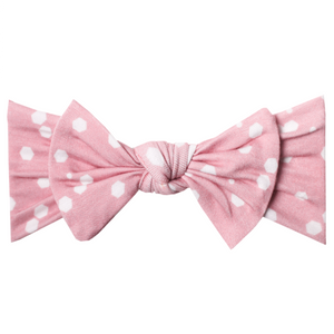 Lucy Knit Headband Bow
