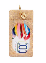 Load image into Gallery viewer, O-Venture Gold Confetti Silicone ID Case