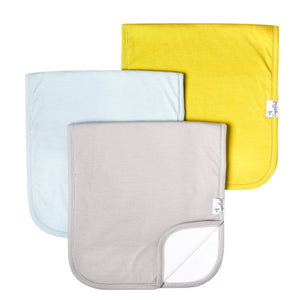 Stone Burp Cloth Set (3PK)