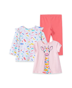 Giraffe 3PC Play Set