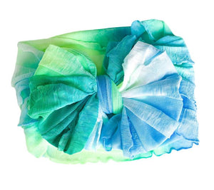 Ruffled Headband-Mermaid