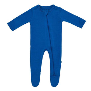 Kyte Baby Zippered Footie in Sapphire