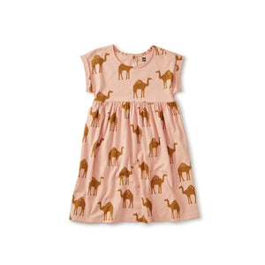 "Tea Collection ""Oasis Camel"" Empire Dress"