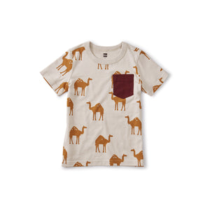"Tea Collection ""Oasis Camels"" Tee"