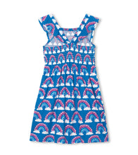Load image into Gallery viewer, Hatley Magical Rainbows Smocked Dress