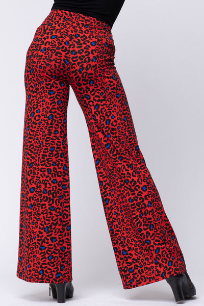Pantalon Slide Leo Rouge