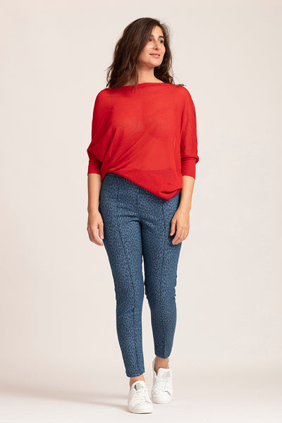 Pantalon Leo Bleu Denim