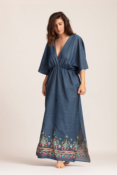 Robe Longue Darya Denim