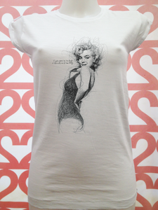 18-66-MARILYN-BS - STREET STYLE PRINT stampa personalizzata