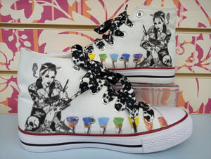 SCARPA DRAWING pitt COLOR - STREET STYLE PRINT stampa personalizzata