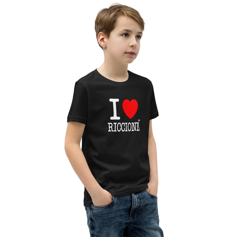 I LOVE RICCIONE Youth Short Sleeve T-Shirt