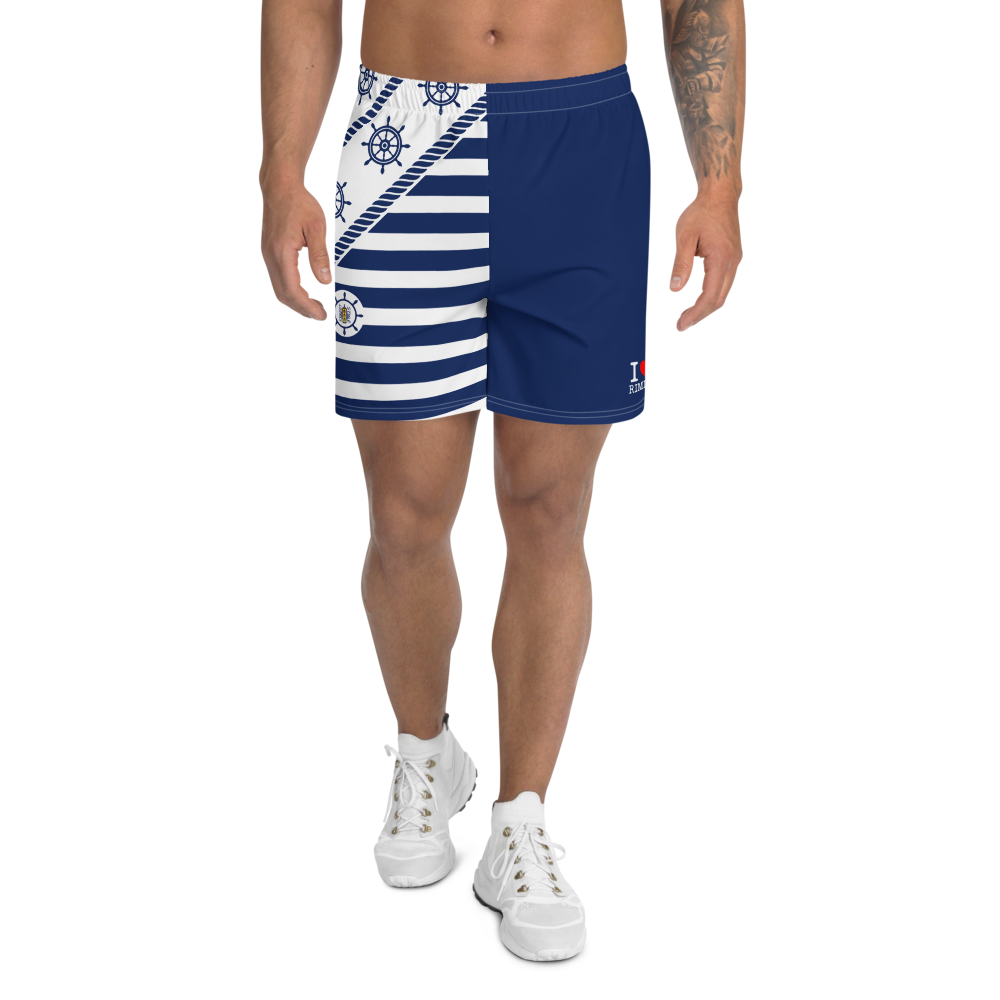I LOVE RIMINI Men's Athletic Long Shorts