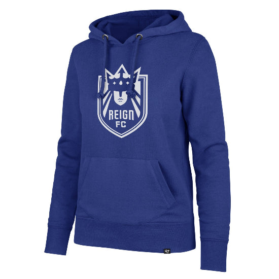 Women's Blue Shield Hooded Sweatshirt