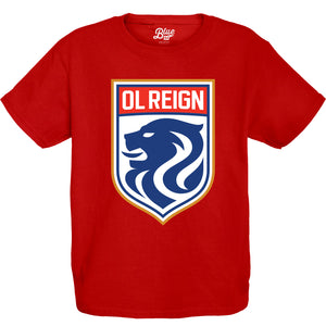 Youth OL Reign Crest Tee