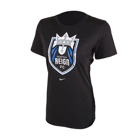 Women's Distressed Shield T-Shirt