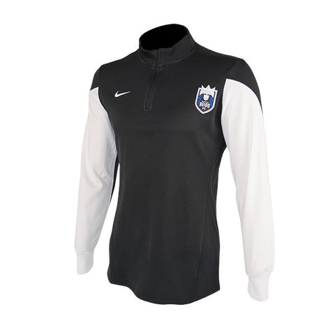 Men's Authentic Black & White Reign FC Training Jacket
