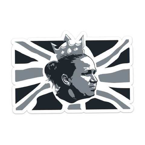 Laura Harvey: God Save the Queen Sticker
