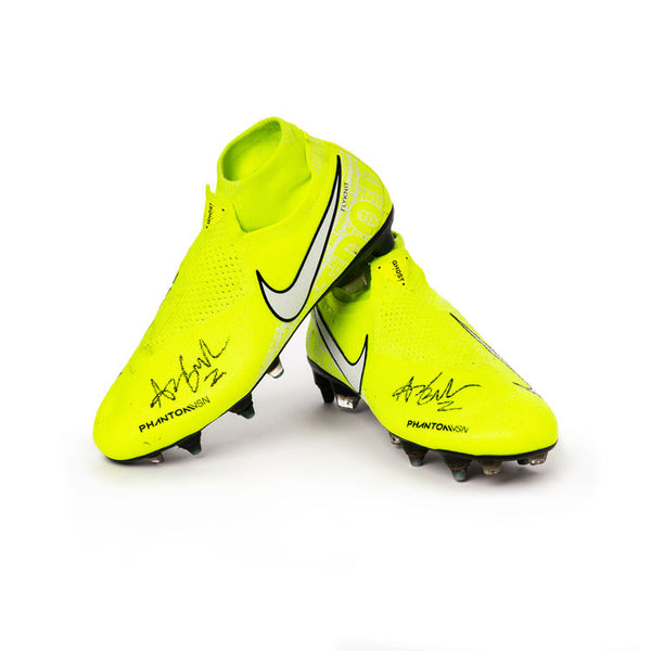 Amber Brooks Autographed Cleats