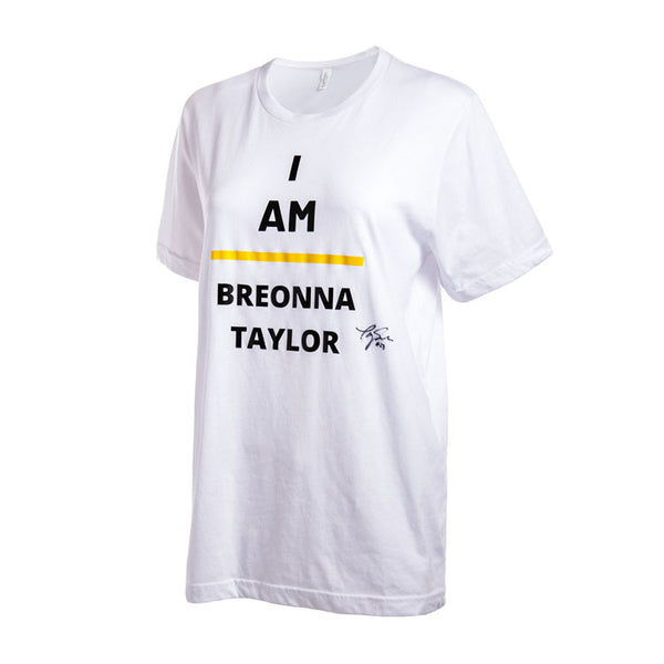 Player Autographed - I AM BREONNA TAYLOR Warm Up T-Shirt