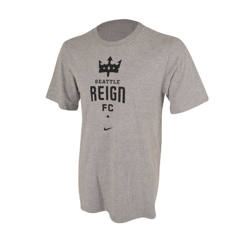 Kids Seattle Reign FC Black Logo T-Shirt