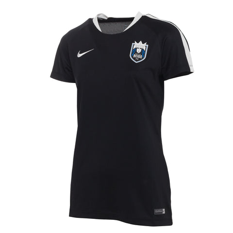 Women's Authentic Black Training Top