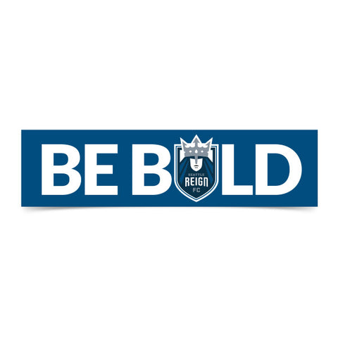 BE BOLD Bumper Sticker
