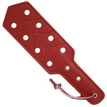 Load image into Gallery viewer, Leather Pocket Paddle With Holes