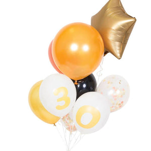 Party Balloon Bundles - 30th Birthday Balloon Pack