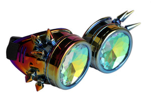 Spiked Kaleidoscope Goggles