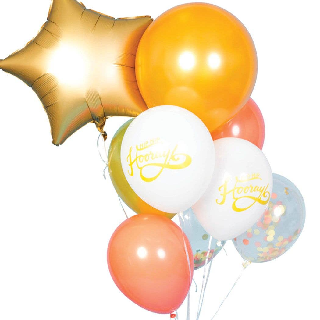 Party Balloon Bundles - Hip Hip Hooray