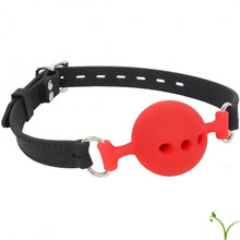 Load image into Gallery viewer, Breathable Silicone Ball Gag