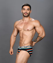 Load image into Gallery viewer, Andrew Christian - California Stripe Brief